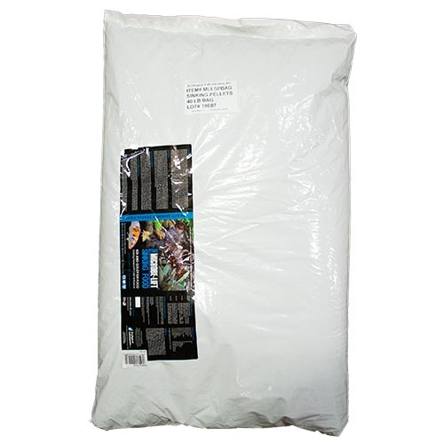 Sinking Pellets 40lb Bag | Legacy Sinking Food