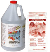Image Microbe-Lift Autumn Prep Gallon SHIPS FREE! Beneficial Pond Bacteria