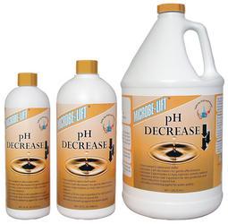 pH Decrease
