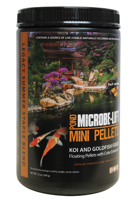 Image Mini Pellets Pond Food 12oz