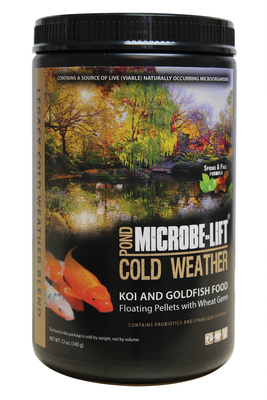 Image Wheat Germ Spring & Fall Pond Food 12oz