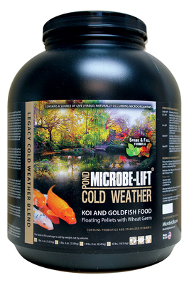 Image Wheat Germ Spring & Fall Pond Food 5lb 4oz