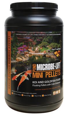 Image Mini Pellets Pond Food 2lb 4oz