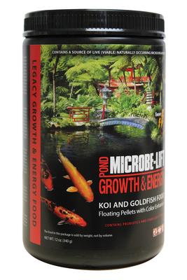 Image High Growth & Energy Pond Food 12oz