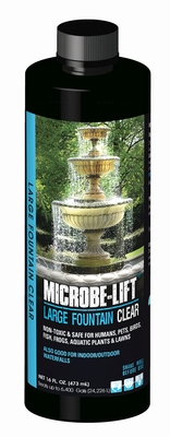 Image Large Fountain Clear  16oz