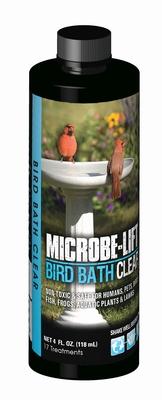 Image Bird Bath Clear  4oz
