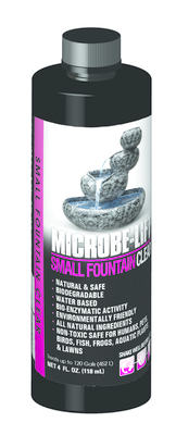 Image TableTop Fountain Clear  4oz